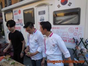 Dalla Corea del Sud per far conoscere la loro cucina e la loro tradizione