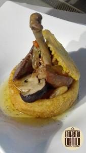 Pollo in Crostata alla Lombarda