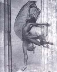 """Nelly's, """"La danzatrice unghereseNikolska al Partenone"""", Atene 1929."""