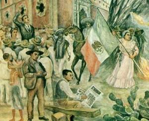 """""""La Universidad en el umbral del siglo XXI"""", insieme e particolari, pittura murale, tecnica mista, 55 mq, stazione """"Università"""" della metropolitana di Città del Messico, 1989."""