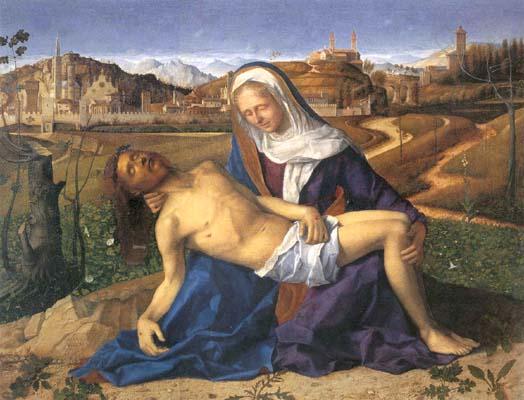 Pietà (Pietà Donà dalle Rose), 1505?, Gallerie dell'Accademia di Venezia.