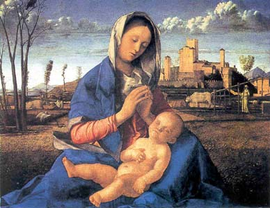 Madonna del prato, 1505?, Londra, National Gallery.