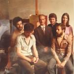 1973, Firenze, Accademia di Belle Arti, con il Maestro Goffredo Trovarelli