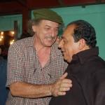 2007 Con il cantautore nicaraguense Carlos Mejia Godoy