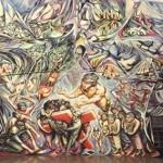 1982-1985-1v-la-resurrezione-murale-absidale-chiesa-del-barrio-riguero-managua