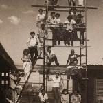 """1985 Inaugurazione della """"Escuela Nacional de Arte Publico-Monumental"""" a Managua-Nicaragua"""