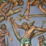 1989 Pittura Murale nel Centro di Spiritualità Mons. Oscar Arnulfo Romero di Managua, Nicaragua