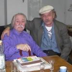 2008 Il sotscritto con il Maestro Aurelio C. nella sua casa di Colbordolo-Pesaro