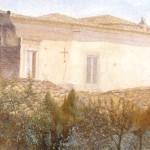 TETTI DI LUCERA, 1937, olio su tela, cm.40x50