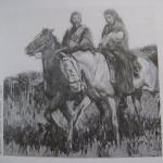 Giuseppe e Anita Garibaldi