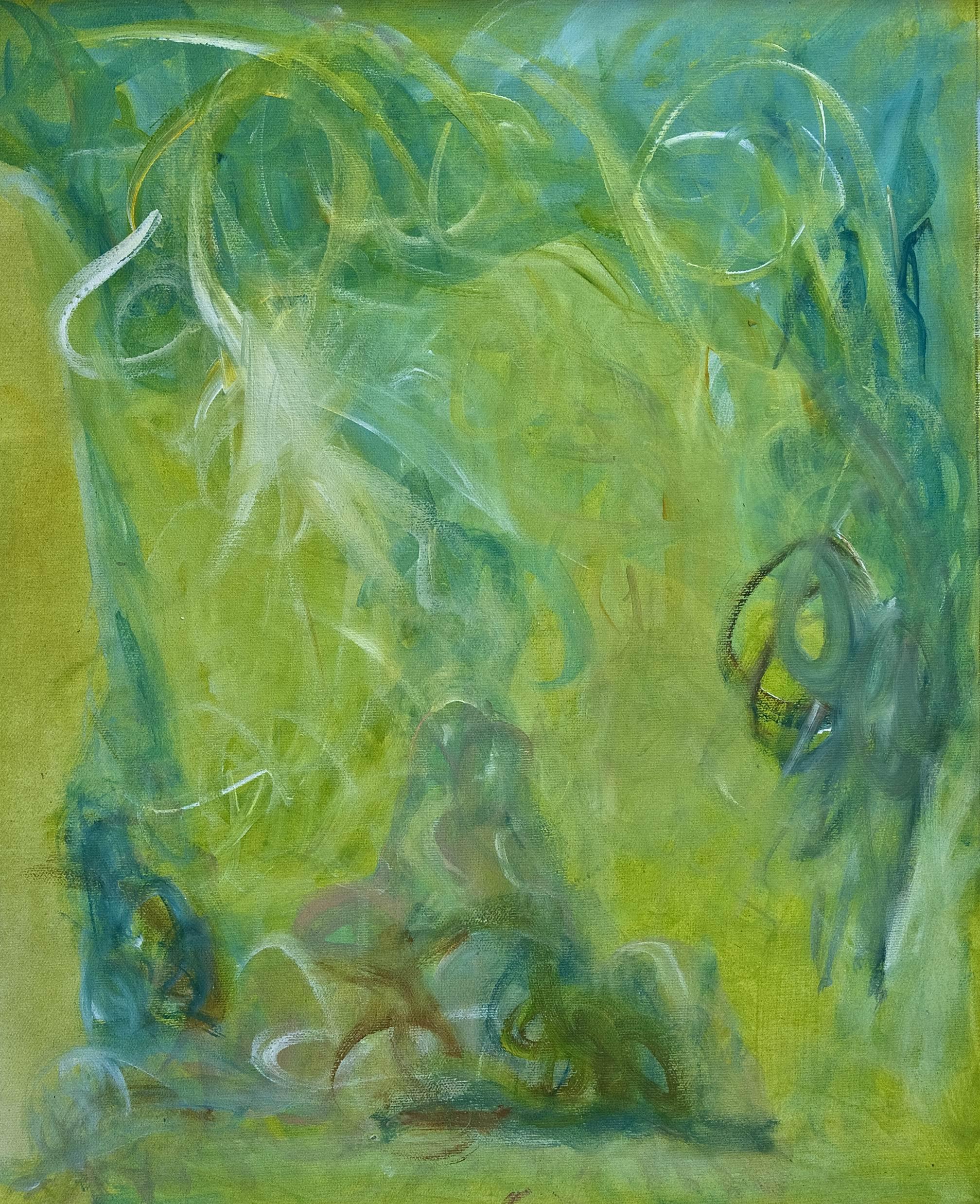"""GIANFRANCO TOGNARELLI, """"FORESTA MAGICA"""", 2009, ACRILICO SU TELA INCOLLATA SU TAVOLA, cm.50x40"""