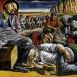 Antonio Berni, DISOCCUPATI, 1934, Témpera sobre arpillera, cm218x300