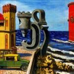 Antonio Berni, La siesta y su sueño, 1932, Óleo sobre lienzo. cm52x69