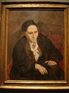Picasso, RITRATTO DI GERTRUDE STEIN, 1906