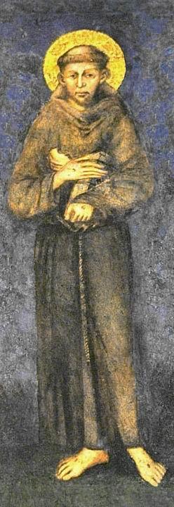 Cimabue, RITRATTO DI SAN FRANCESCO, Basilica di Assisi