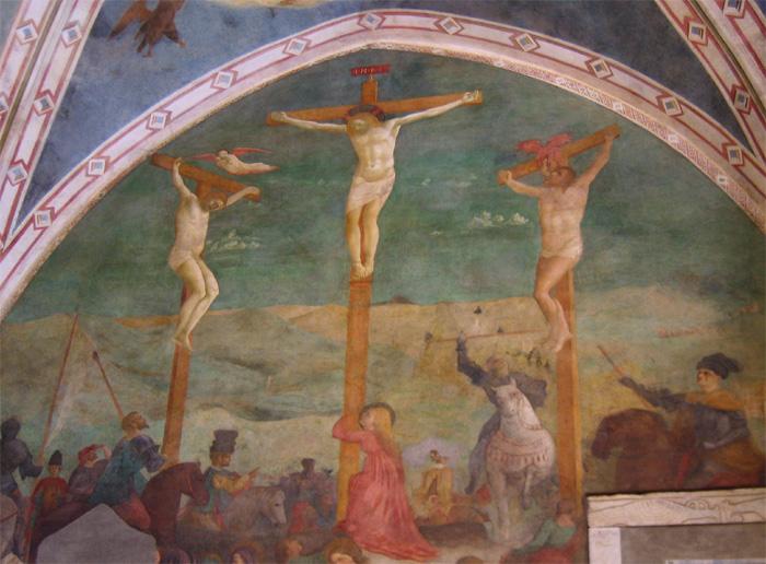 Image result for Cappella di santa Caterina d'Alessandria masaccio