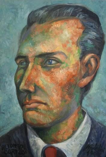 22 - ALFONSO CORTES JOVEN, 20124, óleo-tela, cm.60×40 $ 5,000 USD