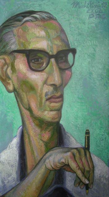 25 – PABLO ANTONIO CUADRA, 2012, óleo-tela, cm.55×30 $ 8,500 USD