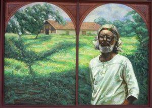 49 - RITORNO A SOLENTINAME, 2005, óleo-tela, cm.50x70 $ 8,000 USD