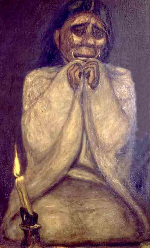Francisco Goitia,Tata Jesucristo, 1927, particolare