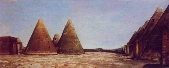 Francisco Goitia, Paisaje de Santa Mónica, 1945, Óleo sobre tela, 68 x 130 cm