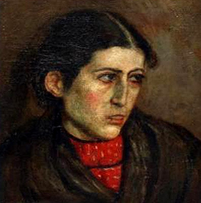 Francisco Goitia, Cabeza de mujer, olio su tela