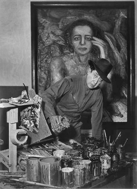 David Alfaro Siqueiros, Mexico City, 1948