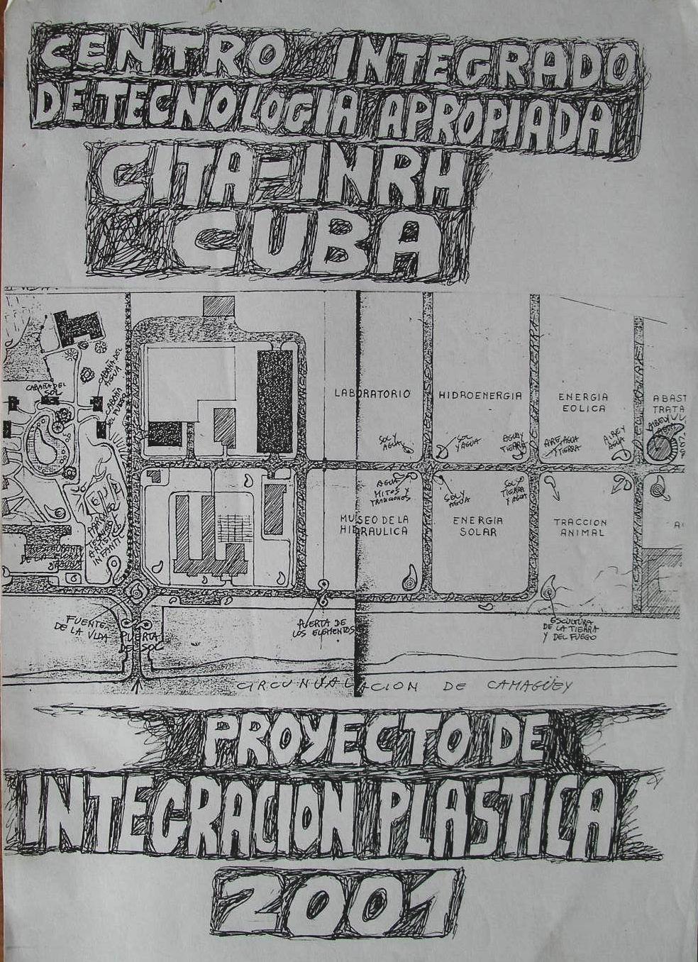 2001-a Progetto d'Arte per Camaguey, Cuba.