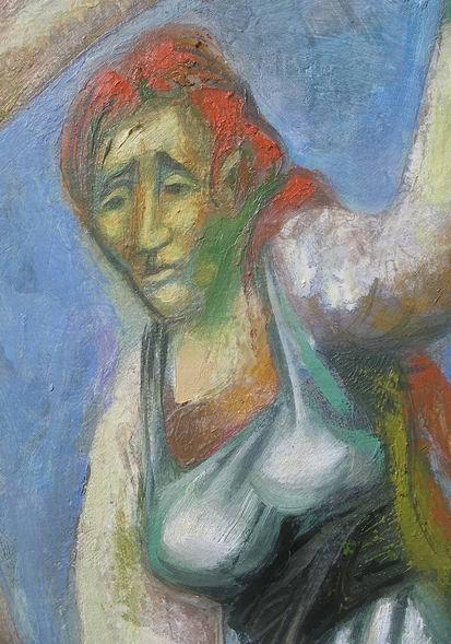 Sergio Michilini, CRUCIFIXION, 2010, detalle