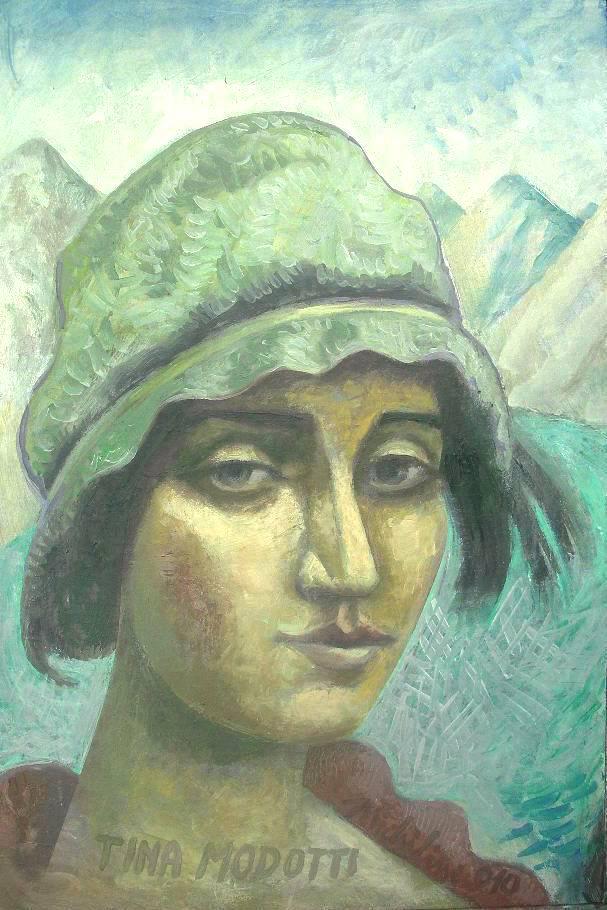 Michilini, retrato de TINA MODOTTI, 2010