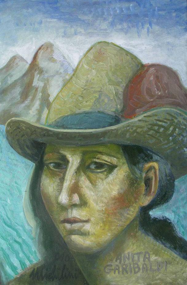 Michilini, retrato de ANITA GARIBALDI,2010