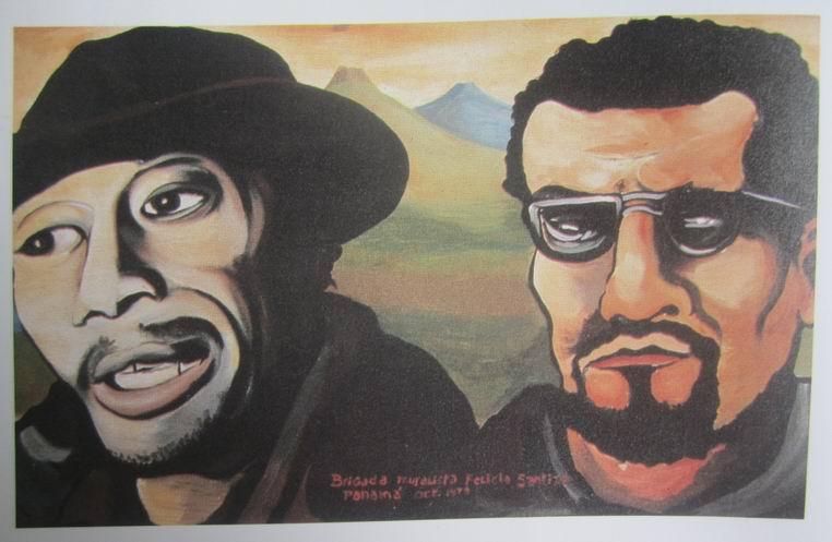 3  Santa Ana, Carr.Sur, MANAGUA, Insurreccion popular, cm.150x2500,octubre 1979, cod.n.109