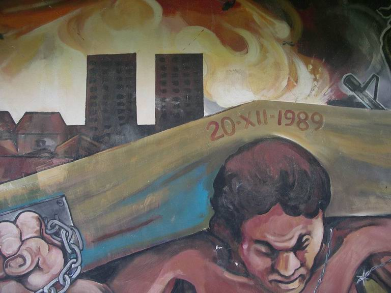 34  CEMOAR MANAGUA, Invasion de Panama, cm.200x300, octubre 1991 cod.n.42