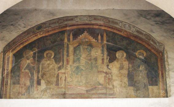Porta_romana,_firenze,_affresco