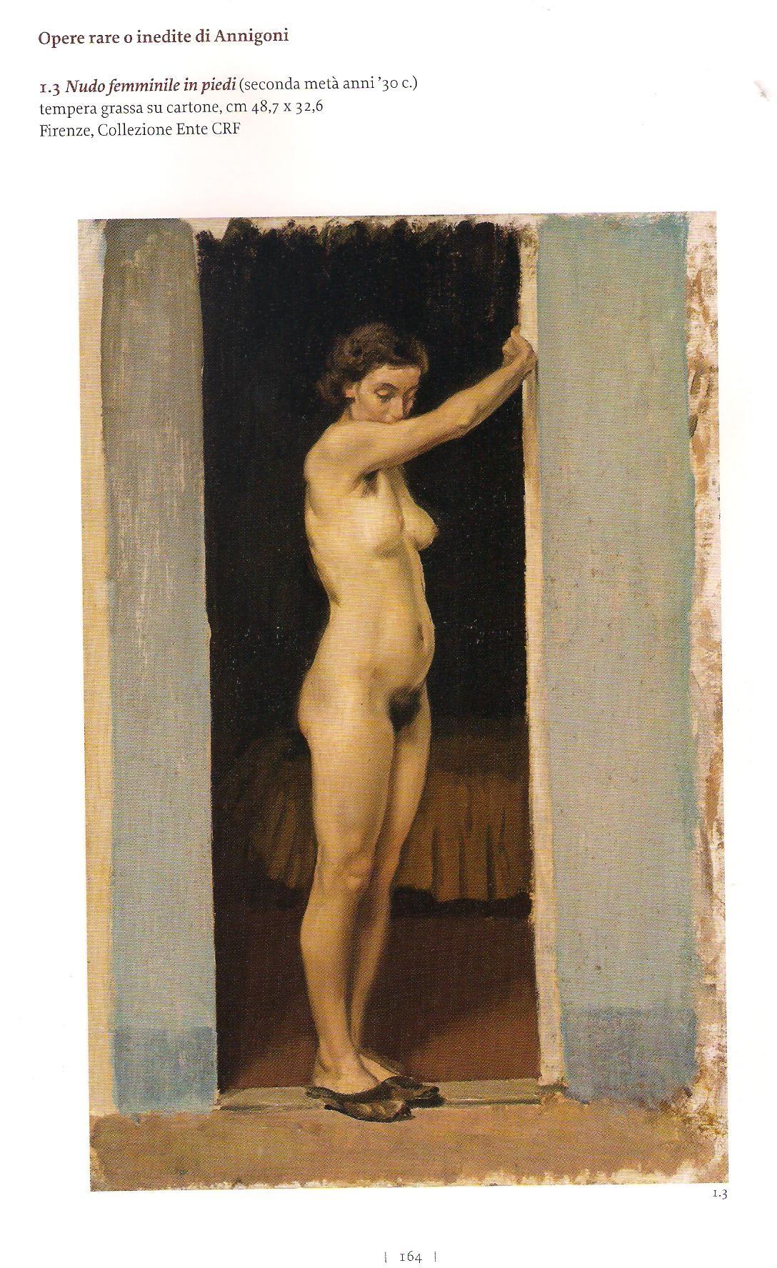 annigoni nudino anni 30