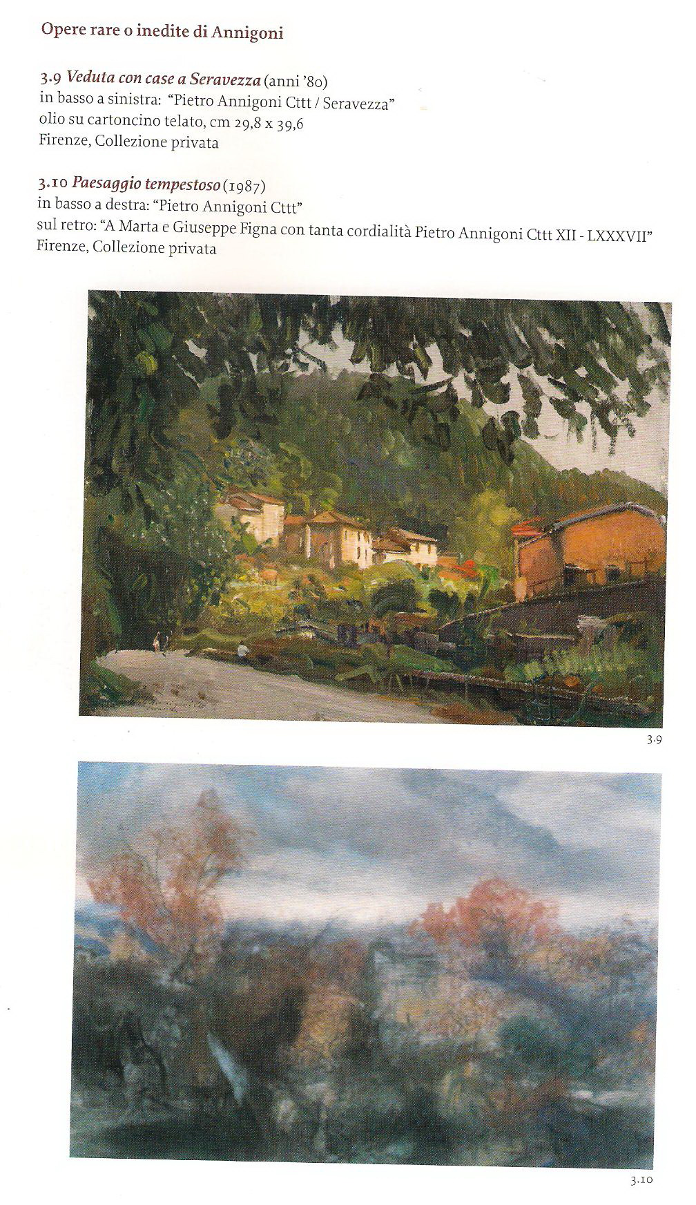 annigoni piccoli studi di paesaggio 3