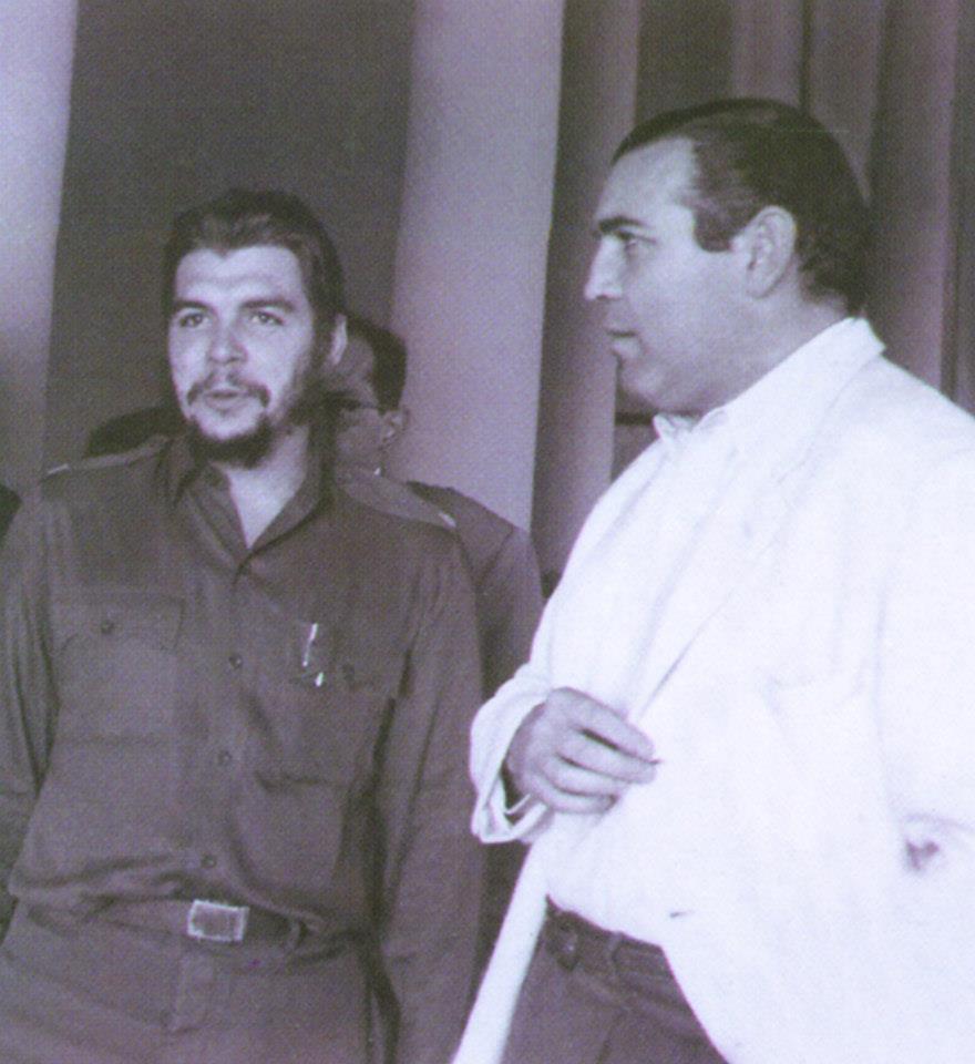 Carlos Páez Vilaró con Che Guevara