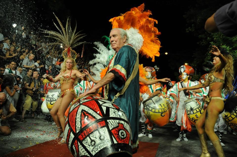 Carlos Páez Vilaró nel Carnevale