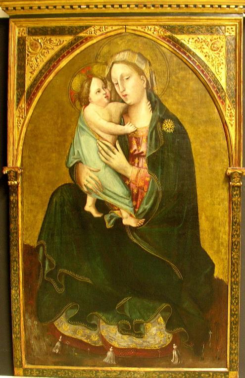 Alvaro Pirez d'Evora - 1425 olio su tela 127 x 78