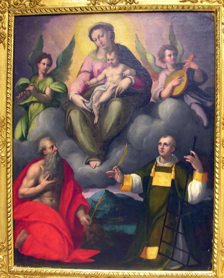Ercole Procaccini 1560 olio e tempera su tavola 96 x 80
