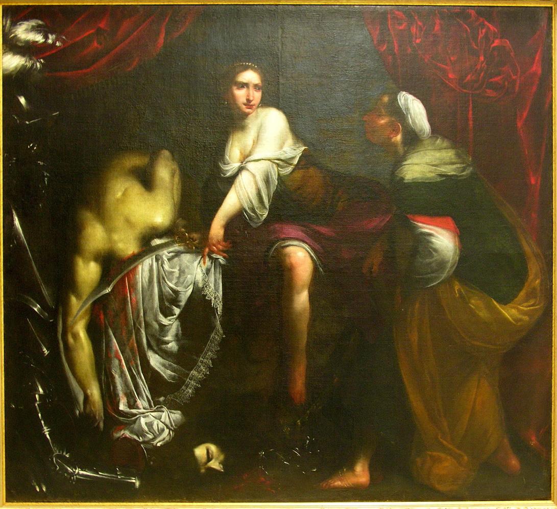 Giuditta e Oloferne 1630 Francesco Furini olio su tela150 x 166