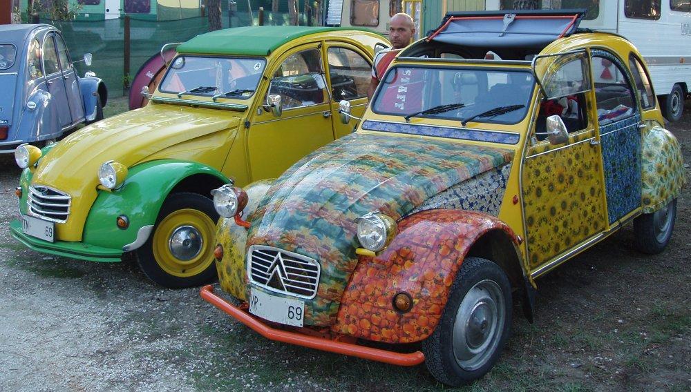 La mitica Citroën 2CV