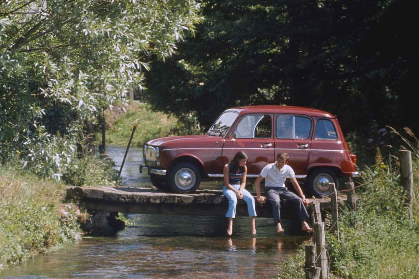 La storica Renault 4