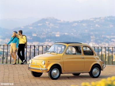 La leggendaria Fiat 500