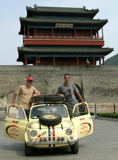 La FIAT 500 in Cina
