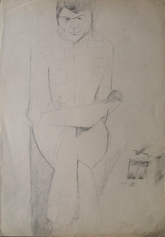 Sergio Michilini, GIANFRANCO TOGNARELLI, 1969 cm.47x34