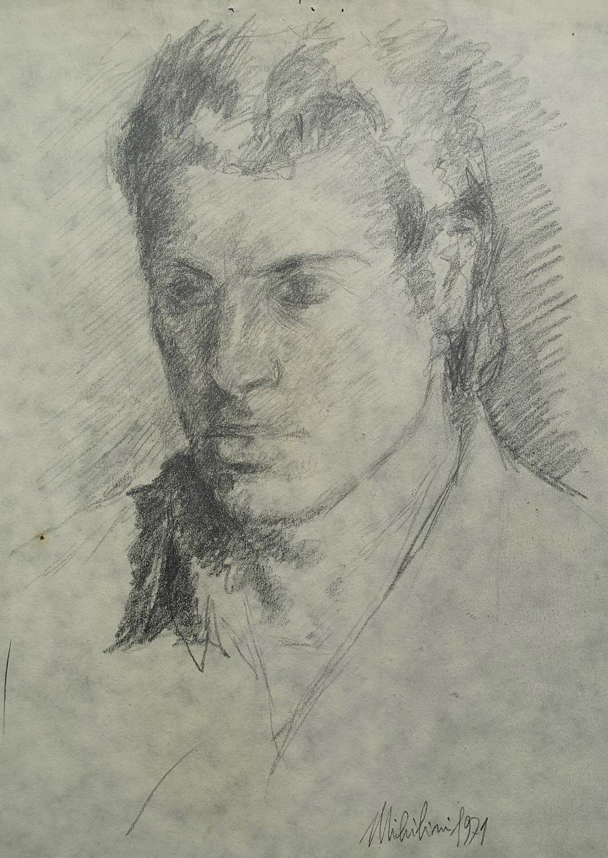 Sergio Michilini, GIANCARLO SPLENDIANI, 1971, cm.26x19