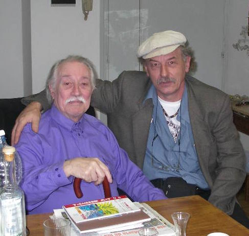 2008 Con el maestro AURELIO.C