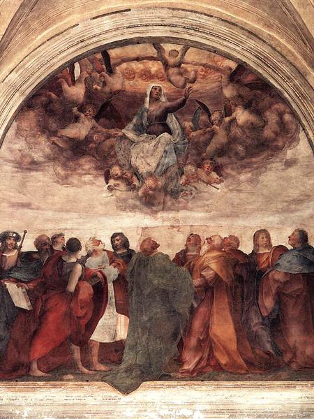 Rosso Fiorentino ASSUNZIONE dell'ANNUNZIATA, Firenze