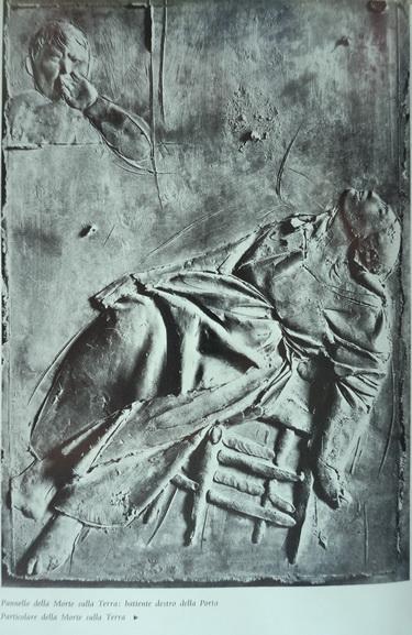 """Giacomo Manzù """"La Porta della Morte"""". PARTICOLARE"""
